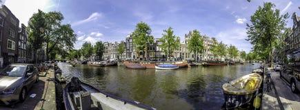 Канал Амстердам Стоковая Фотография RF