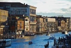 Канал Венеции грандиозный Стоковое фото RF