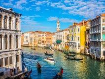 Канал Венеции грандиозный Стоковое Изображение RF