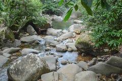 Канал водопада Стоковые Фото