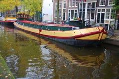 : Канал в Амстердаме Стоковое Изображение RF