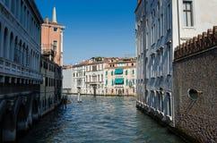 Канал в Венеции Стоковые Изображения RF