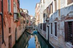 Канал в Венеции Стоковое фото RF
