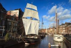 Канал в Голландии Стоковое Фото