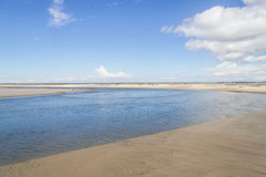 Канал в пляж Tavares стоковые фотографии rf