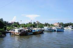 Канал в Negombo Стоковые Фото