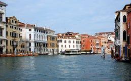 канал грандиозная Италия venice Стоковая Фотография