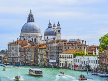 канал грандиозная Италия venice Стоковое Изображение