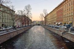 Канал и ясность лед стоковые изображения
