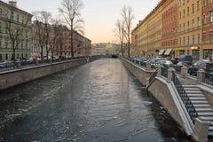 Канал и ясность лед стоковая фотография rf