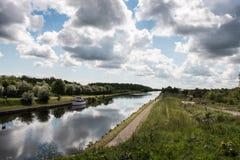 Канал Йоркшира Стоковое Изображение RF