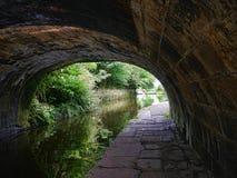Канал Лидса Ливерпуля на Burnley Lancashire Стоковое фото RF