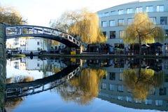 канал моста сверх Стоковое Изображение