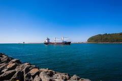 Канал пристаней входа гавани корабля Стоковое Изображение RF