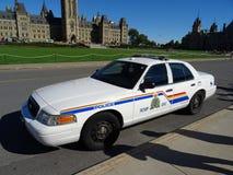 Канадская полицейская машина стоковое изображение rf