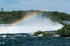 Канадская подкова падает на Ниагару Стоковые Изображения