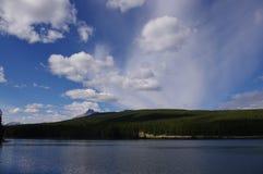 Канадская сцена озера Стоковая Фотография RF