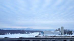 канадская ферма Стоковая Фотография