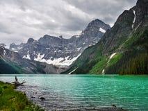 Канадские горы Banff Альберта озера скалистые гор Стоковая Фотография
