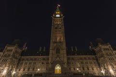 Канадские здания парламента Стоковое Фото