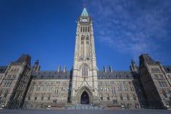 Канадские здания парламента Стоковое Изображение