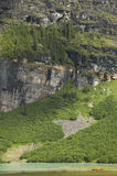 Канадский ландшафт в Lake Louise альбатроса Канада стоковая фотография