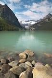 Канадский ландшафт в Lake Louise альбатроса Канада стоковые изображения