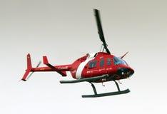 Канадский вертолет службы береговой охраны Стоковые Изображения