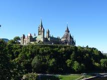 Канадский парламент стоковое изображение