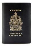 канадский пасспорт Стоковое Изображение