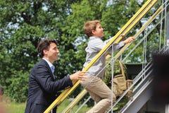 Канадский премьер-министр Джастин Trudeau Стоковые Фотографии RF