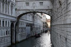 Каналы Венеции стоковая фотография