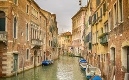 Каналы Венеции Стоковое Изображение