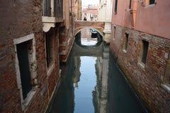 каналы Италия venice Стоковая Фотография