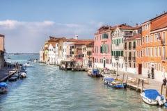 каналы Италия venice Стоковое Изображение RF