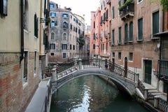 Каналы и мосты Венеции Стоковое Фото