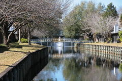 Канал для шлюпок Стоковая Фотография