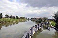 Канал Bata, чехия Стоковая Фотография