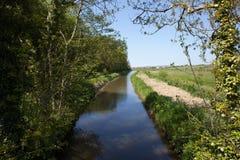 Канал Budes, северный Корнуолл, Великобритания Стоковая Фотография RF