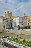 Канал de Ла Robine в Нарбонне Стоковое Фото