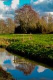 Канал Glastonbury стоковое изображение rf