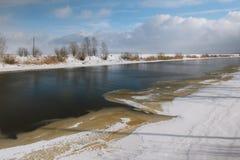 Канал Ladoga Стоковая Фотография RF