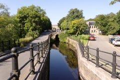 Канал Slaithwaite Стоковые Изображения RF