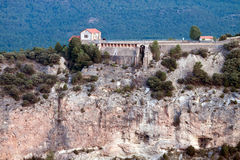 Канал Toba. Villalba de Ла Сьерра, Cuenca, Испания Стоковые Фото