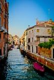 Канал Venezia Стоковая Фотография