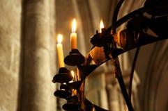 канделябр собора старый Стоковое Изображение RF