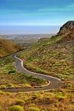 канереечная замотка дороги гор стоковые изображения rf