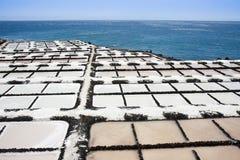 канереечное соль palma la островов извлечения Стоковая Фотография