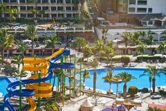 канереечное rico курорта puerto стоковое изображение