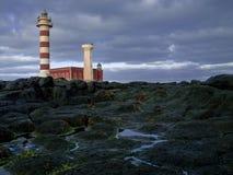 канереечное tost n маяка островов fuerteventura стоковые изображения